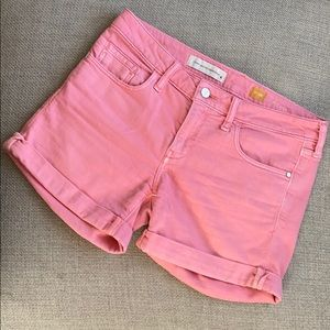 Pilcro And The Letterpress Pink Short Size 28